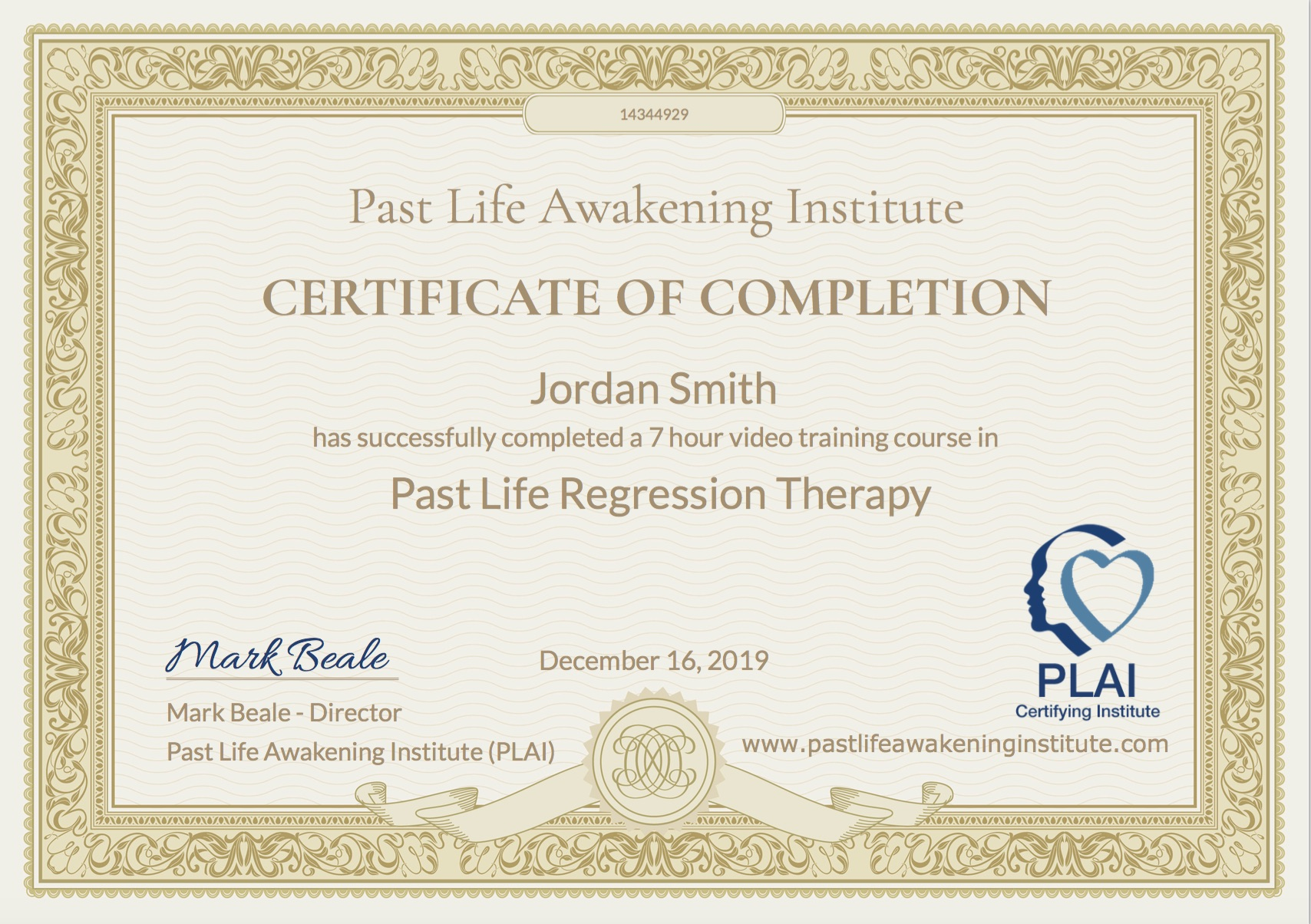 free online course on past life regression