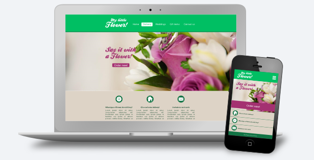 Create your graphics for a responsive website with Inkscape!