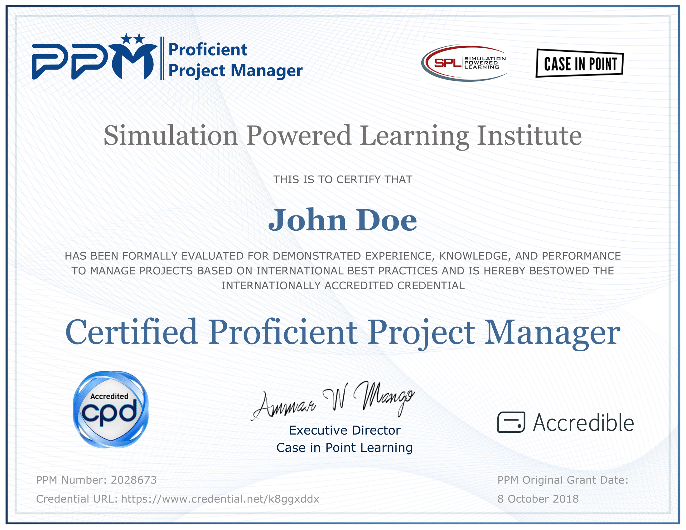 Get Certified As A Proficient Project Manager Ppm Online