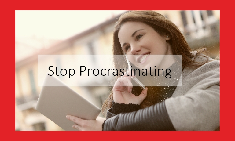stop procrastinating audio course