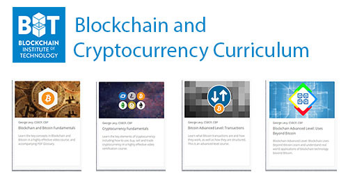 2018 Blockchain and Cryptocurrency Curriculum