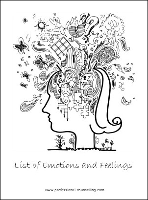 List of Emotions and Feelings
