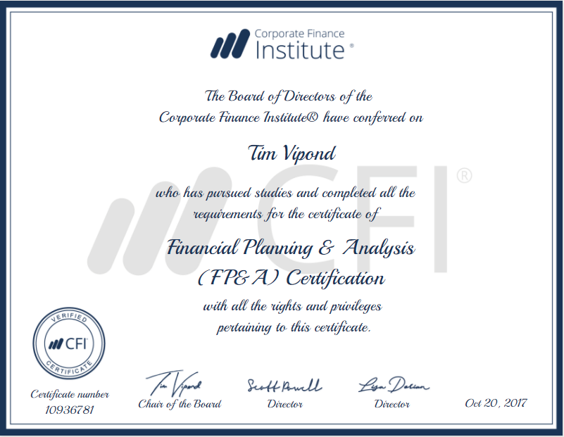 fp&a certification - the leading accreditation for fp&a