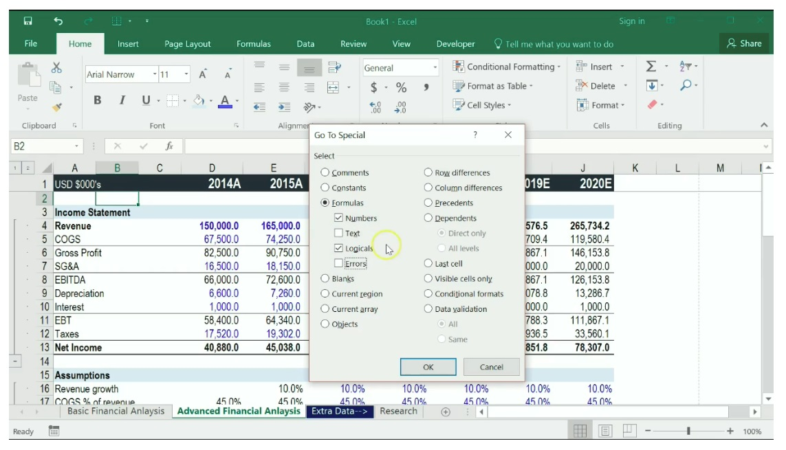 Free Excel Crash Course
