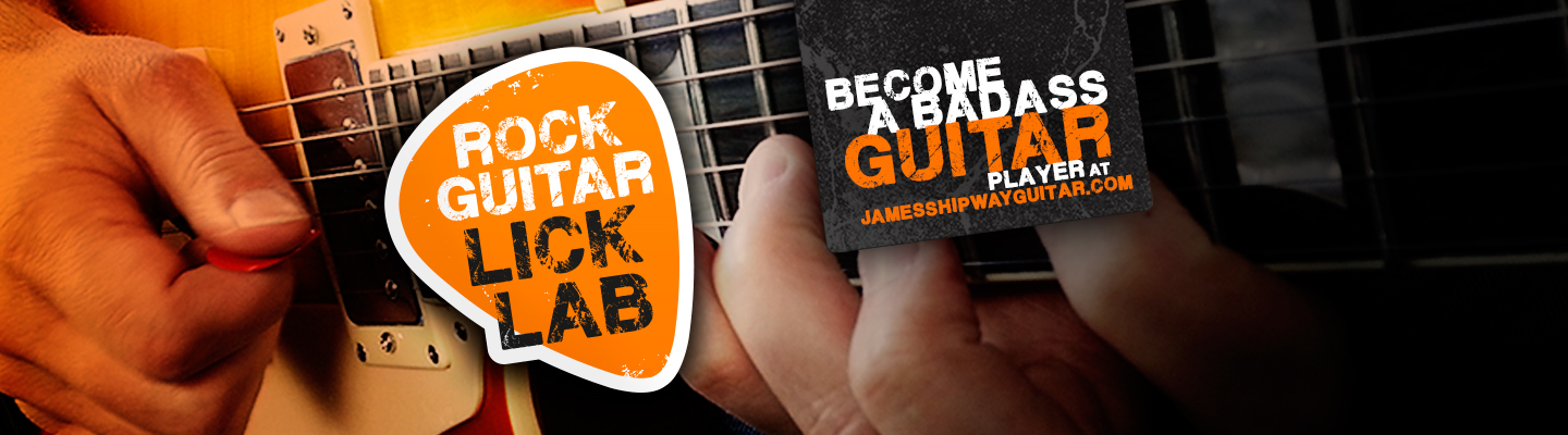 Become a badass guitar player