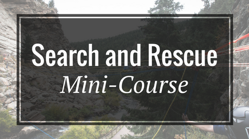 Search and Rescue Mini-Course - Rigging Lab Academy