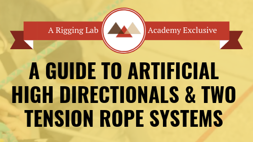 5 Day Advance Master Class - Rigging Lab Academy
