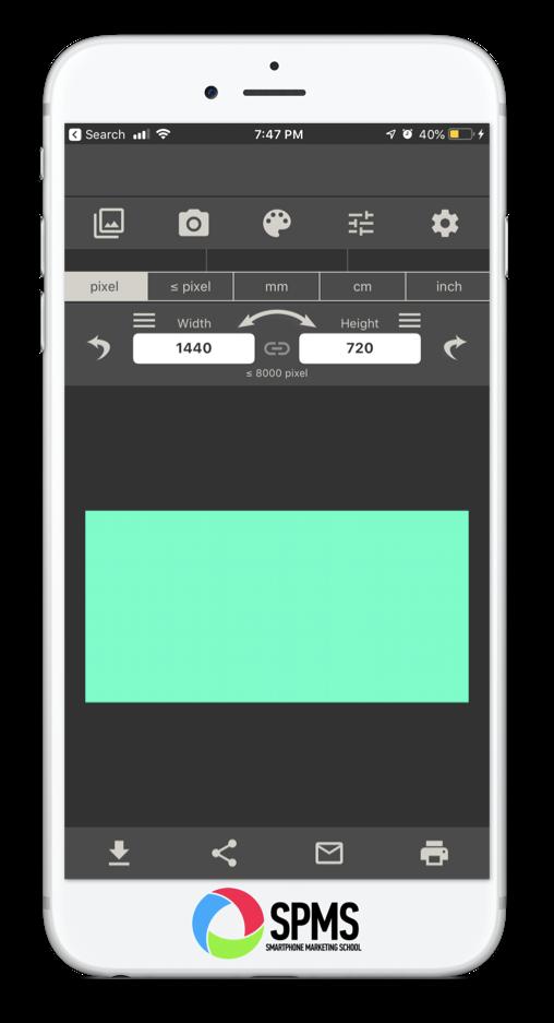 ✂ Crop Photos   iOS Photos App, Adobe Spark Post, Image