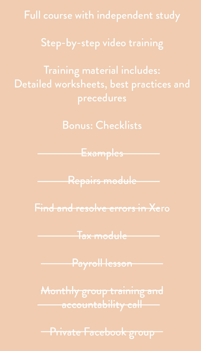 Self study do it yourself jewelry accounting xero course heres how to setup maintain your xero accounting system solutioingenieria Choice Image