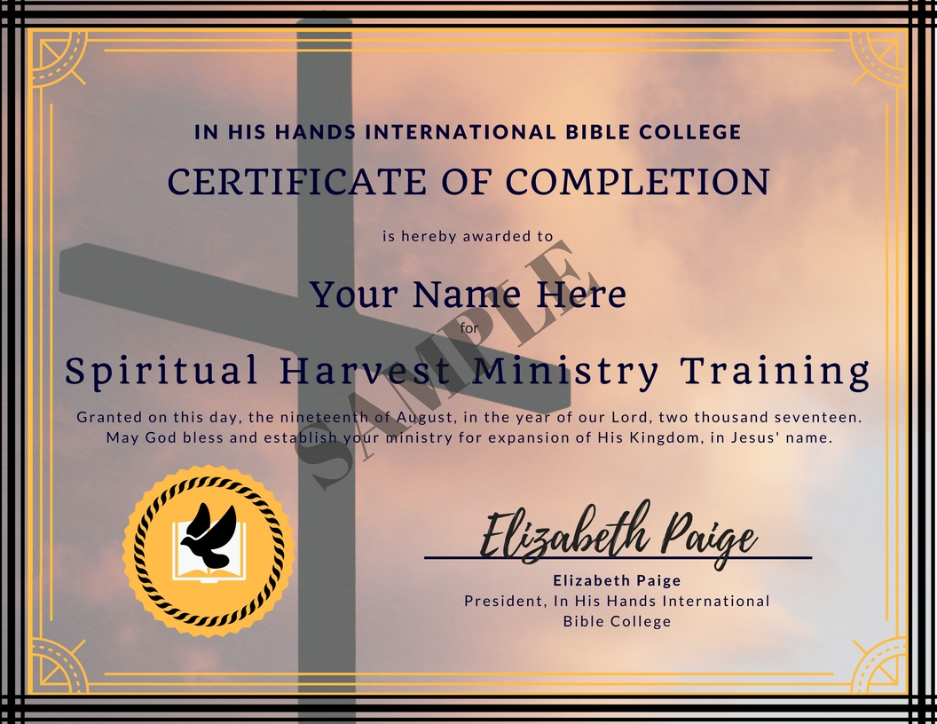 free online bible courses with certificate of completion
