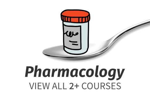 online pharmacology course