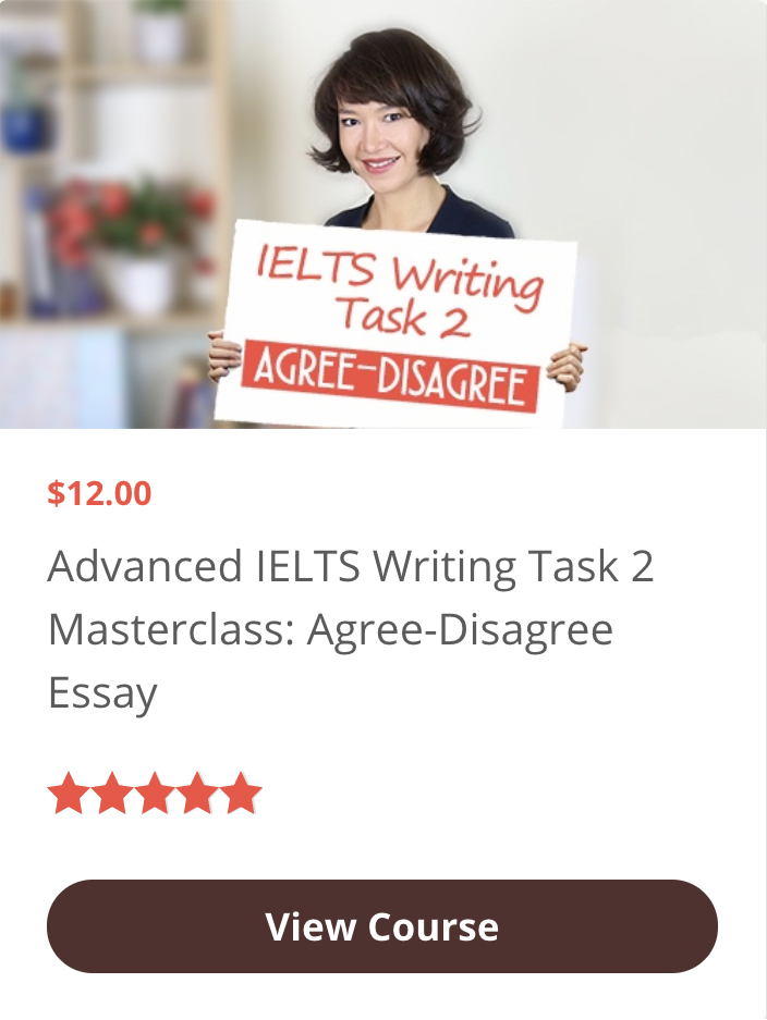 Advanced Masterclass: writing Agree-Disagree essays