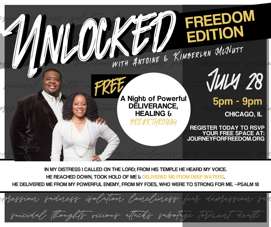 Unlocked: Freedom Edition Deliverance Ministry Night (RSVP Free)