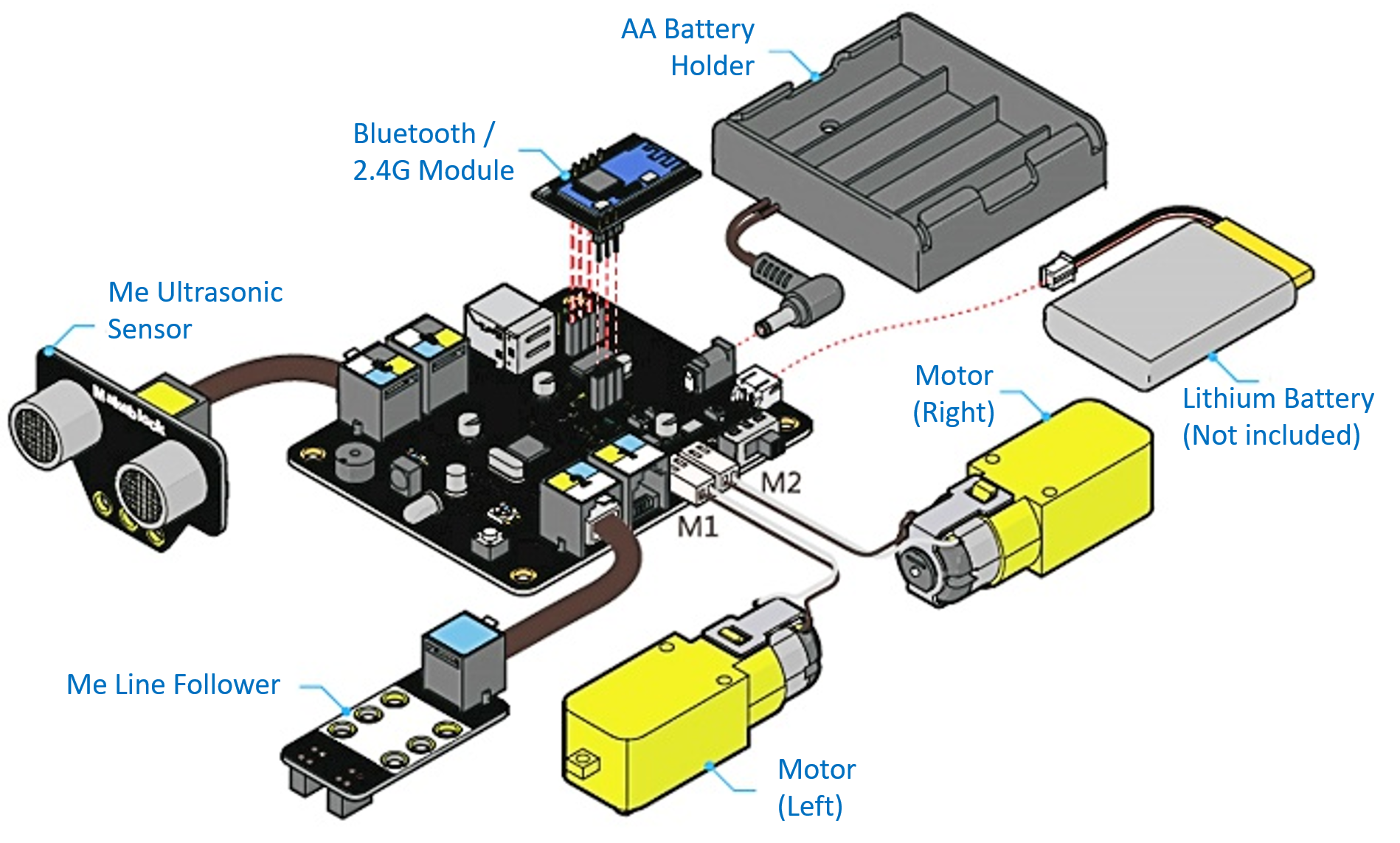 mBot online course 101 - Connections - DIY Electronics