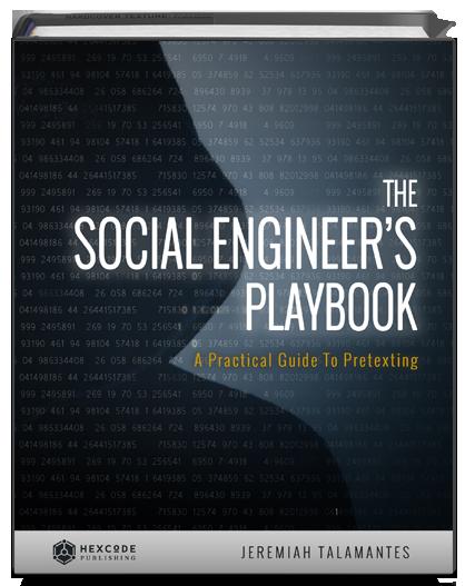 The Social Engineer S Playbook