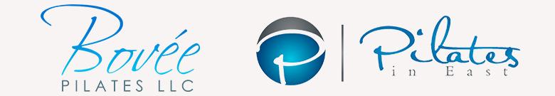 Bovée Pilates LLC Logo & Pilates in East Logo