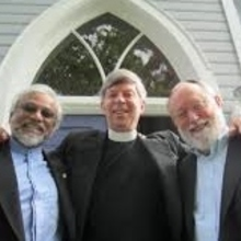 Imam Jamal Rahman, Pastor Don Mackenzie,  and Rabbi Ted Falcon