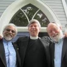 Imam Jamal Rahman, Pastor Don Mackenzie,  and Rabbi Ted Falcon