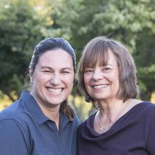 Judith Hanson Lasater and Mary Richards