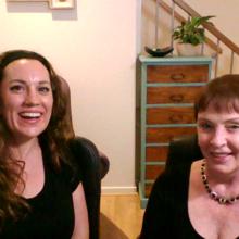 Dr Louise Porter and Sandi Phoenix