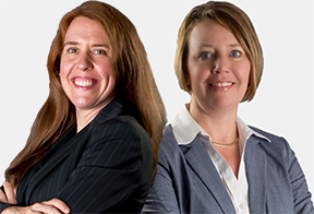 Joyce Novotny-Prettiman, Esq. and Jessica Rafferty, Esq.