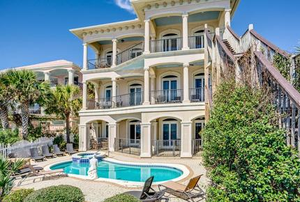Gulf Front Home at Rosemary Beach