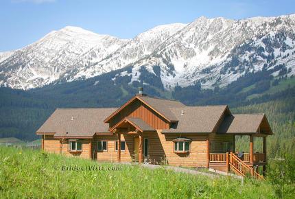 Bridger Vista Lodge - view ski slopes at Bridger Bowl