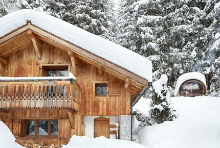 Spoiling Dream private Chalet with amazing Sauna