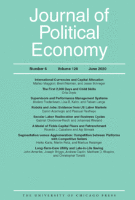 Cover of Journal of Political Economy