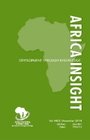 Cover of Africa Insight