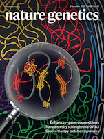 cover of Nature Genetics