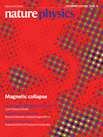 Cover of Nature Physics