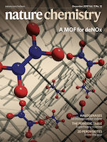 Cover of Nature Chemistry