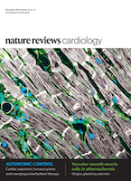 Cover of Nature Reviews Cardiology