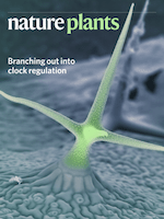 Cover of Nature Plants