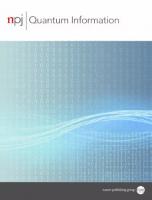 Cover of npj Quantum Information