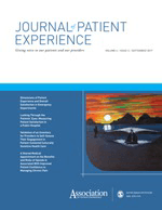 Journal of Patient Experience cover image