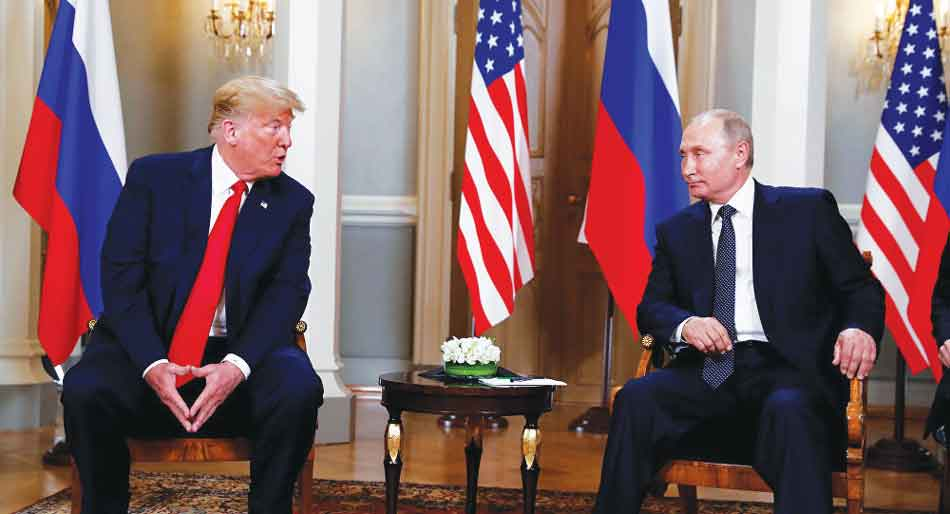 Helsinki summit: US President justifies cooperation with Russia