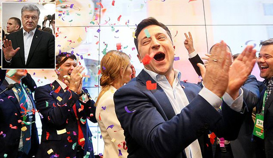 Ukraine election: Pro-Russia candidate Volodymyr Zelensky's landslide victory shocks the West