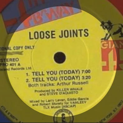 "Tell You (Today) (Original 12"" Vocal)"