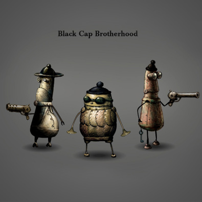 The Black Cap Brotherhood Theme