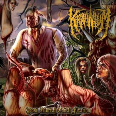 Entrails Full of Vermin (Abominable Putridity Cover)