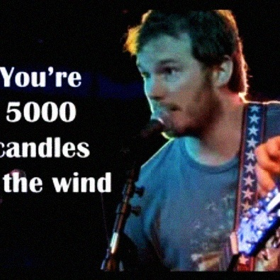 5000 Candles in the Wind
