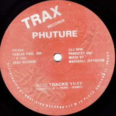 Best Acid House Tracks Of Acid Tracks By Phuture This Is My Jam
