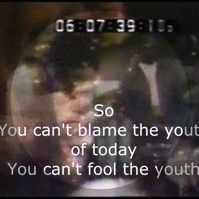 You Can't Blame The Youth