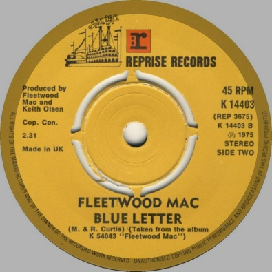 Blue Letter by Fleetwood Mac | This Is My Jam