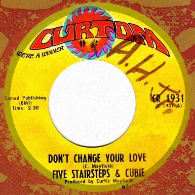 Don't Change Your Love