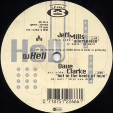 Hot In The Heels Of Love (Dave Clarke Remix)