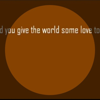 Did You Give the World Some Love Today, Baby