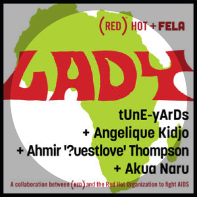Lady - Fela Kuti cover for charity compilation http://blog.joinred.com/2012/05/red-hot-music-collaboration.html